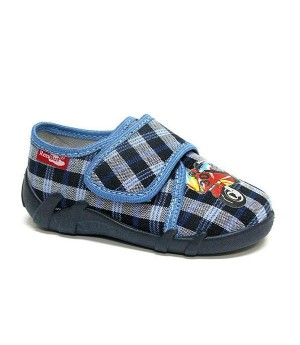 Harrison checkered shoes for a toddler