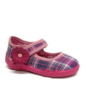 Hazel purple girl toddler shoes