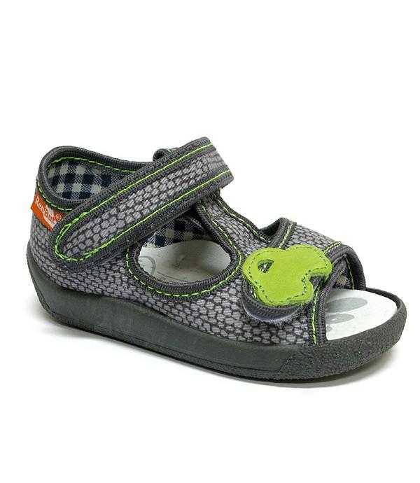 Boys husk green shoes